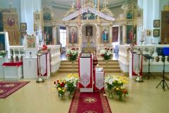 Pääsiäisenä kirkossa