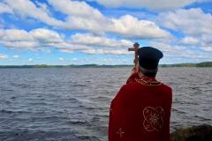 Ilomantsin järvenrannalla