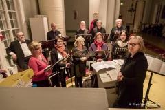 Kuoro valmis pääsiäispalvelusta varten, kuva: Topi Ylä-Mononen
