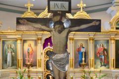 Ristinnaulittu Kristus, kuva: Teuvo Martiskainen