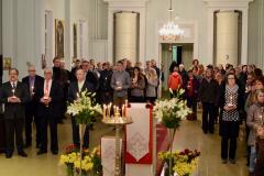 Liturgian aikana, kuva: Teuvo Martiskainen