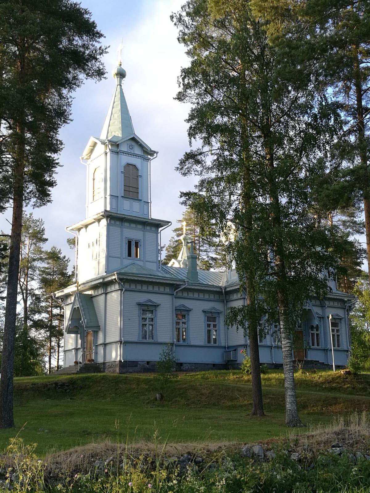 Jumalanäidin Tihvinäläisen ikonin kirkko - Viinijärvi