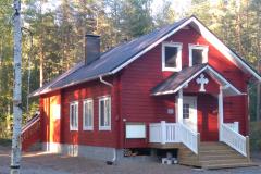 Säynelammen leirikeskuksen päärakennus