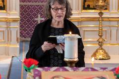 Suuri torstai, Ehtoollisen asettamisen liturgia, Viinijärvi
